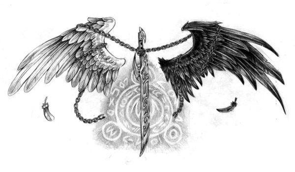 Tattoo Wzory Skrzydla Wings Czy Dla Ciebie Tattoo Wzory
