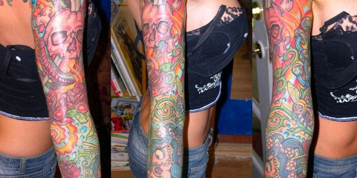 Tattoo Wzory Sleeve