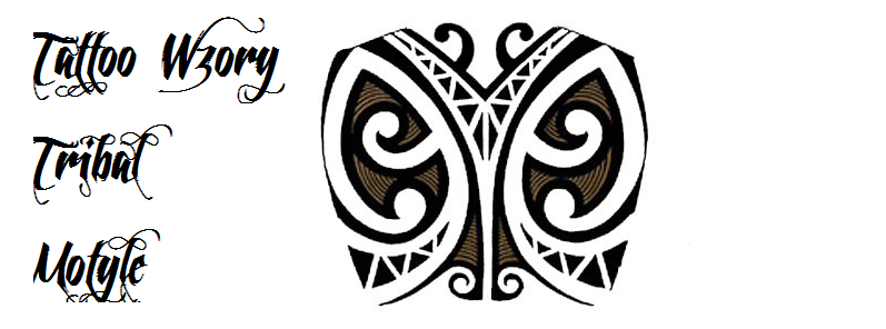 Tatuaże Dla Dziewczyn Tattoo Tribal Motyl Wzory Symbolika