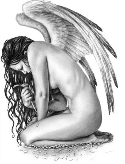 Tattoo Wzory Anioł