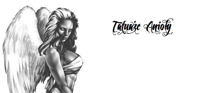 tattoo wzory anioły